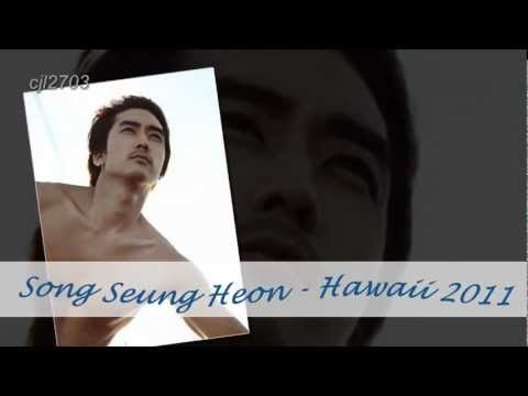 Song Seung Heon - Hawaii 2011
