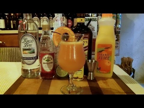 How To Make A Bahama Mama Cocktail / Mixed Drink ◼︎ RECIPE INCLUDED ◼︎  DJs BrewTube
