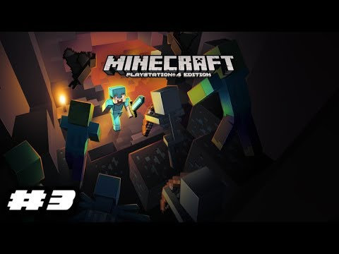 Minecraft PlayStation 4 Edition Gameplay - BATS?!