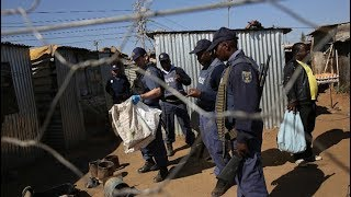 WATCH: Police disrupt illegal mining operation.
