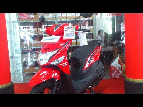 All New Honda Beat Pop eSP Merah