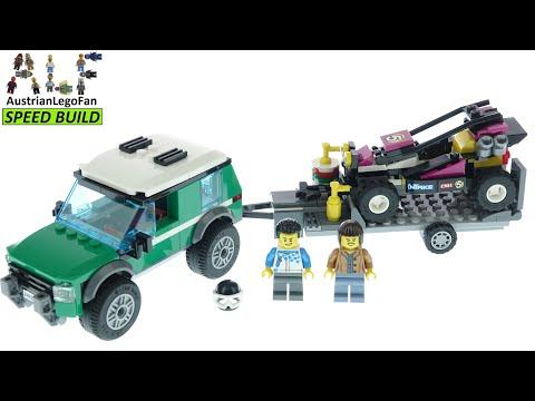 Vidéo LEGO City 60288 : Le transport du buggy de course
