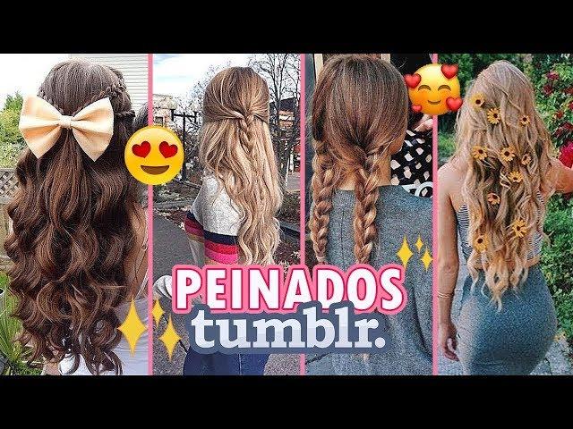 Peinados Tumblr Faciles Y Rapidos 3 Peinados Tumblr Super Faciles