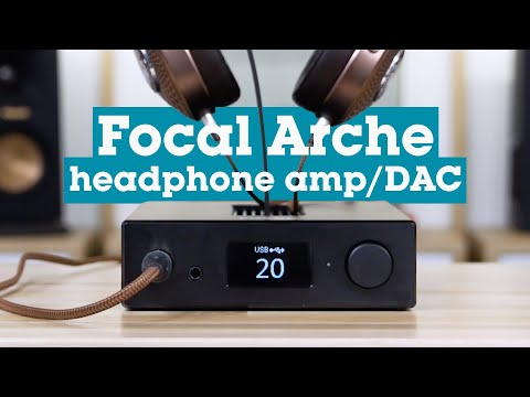 Focal Arche headphone amp/DAC/preamp | Crutchfield video