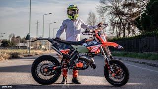 KTM EXC 125 HGS SOUND CHECK | FULL GAS