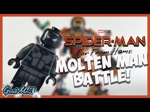 Vidéo LEGO Marvel Super Heroes 76128 : Spider man et la bataille de l'Homme de métal