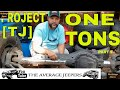 JEEP WRANGLER ONE TON AXLE INSTALL PROJECT TJ  PART 1 - THE AVERAGE JEEPERS