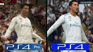 FIFA 18 | PS4 Pro VS PS4 Slim | Graphics Comparison