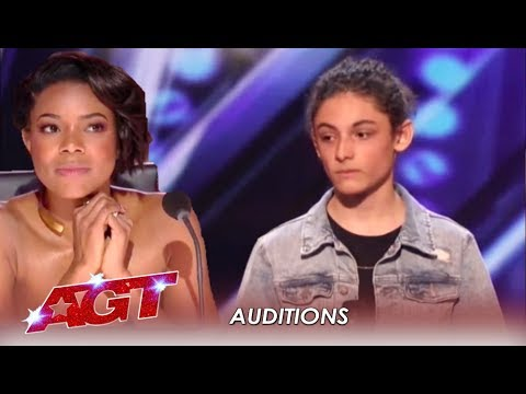 Benicio Bryant: Judges Did NOT Expect This Shy Boy's Voice | America's Got Talent 2019 (видео)