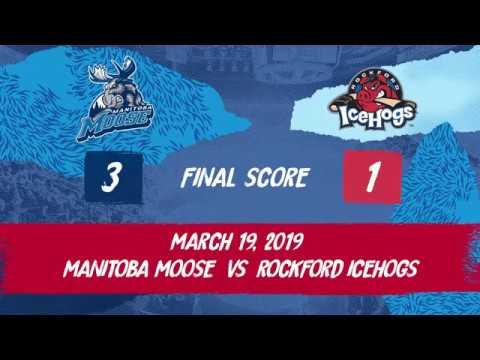 IceHogs vs. Moose | Mar. 9, 2019