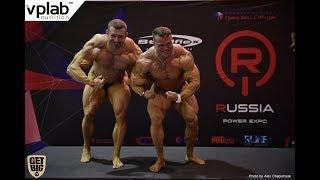 Чемпионат России по бодибилдингу - 2018 / регистрация, свыше 100 кг