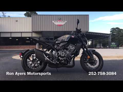 2021 Honda CB1000R Black Edition in Greenville, North Carolina - Video 1