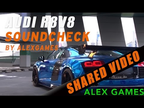 Audi R8 V8 w/IPE Innotech Exhaust Start Up and Rev