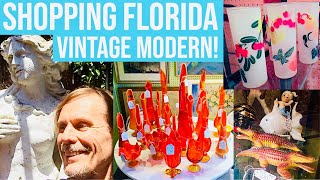 SHOPPING & RESELLING | VINTAGE MODERN ANTIQUE MALL | FLORIDA
