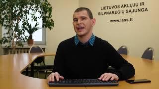 Interneto svetainių ir mobiliųjų programų prieinamumas regėjimo neįgaliesiems