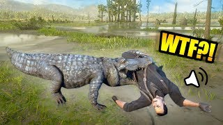 FEEDING PEOPLE TO ALLIGATORS ONLINE! *LASSO TROLLING* | Red Dead Redemption 2 Online Outlaw Life #20