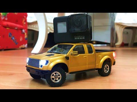 World\'s Smallest Ford Pick-Up Truck! Orlandoo Hunter F150 RC Crawler