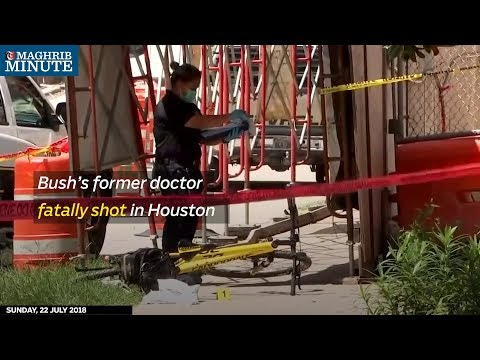 Bush's former doctor fatally shot in Houston