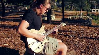 Playing Guitar by Hollywood Sign (Hollywood Dream)