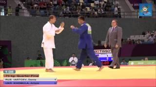 Russia vs Ukraine European judo teams championships - Baku 2015