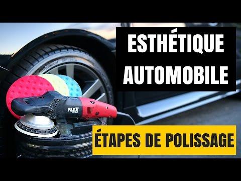 ÉTAPES DE POLISSAGE DE LA PEINTURE DE VOITURE (Compound et polish) polissage voiture - 0 - Comment réussir le polissage et le lustrage  d'une voiture ?