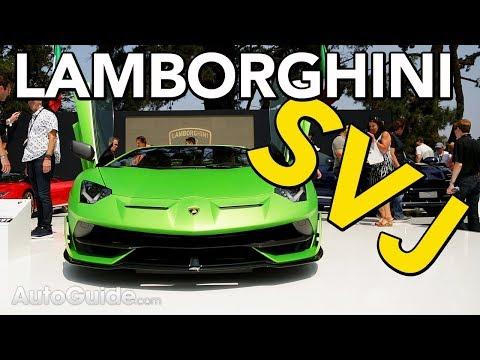 2019 Lamborghini Aventador SVJ Revealed | 2018 Monterey Car Week