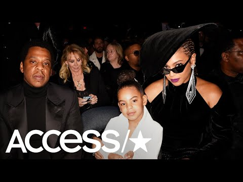 Blue Ivy Carter Had A Hilarious Reaction To Beyoncé & Jay Z's NSFW Concert Video!