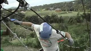 preview picture of video 'Mario Peguero en Zipline Park - Chevere Nights 2011'
