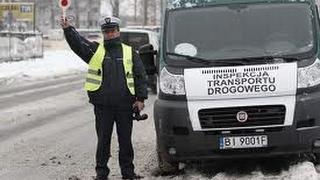 На границе Литва-Польша остановили польские транспортники