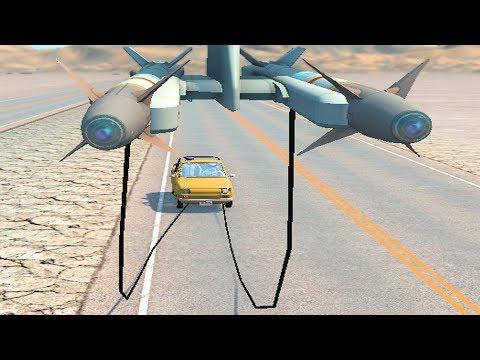Rocket Ride Crashes #2 Beamng Drive
