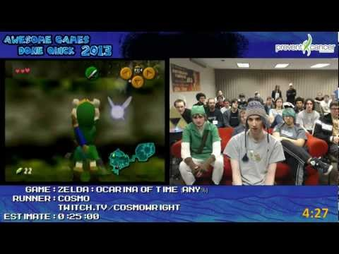 Watch The Legend Of Zelda: Ocarina Of Time Beaten In Just 22 Minutes