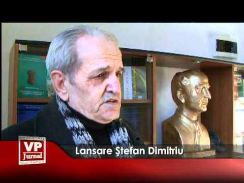 Lansare Ştefan Dimitriu