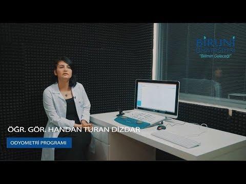 Biruni Üniversitesi - Odyometri Program Tanıtımı