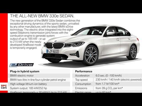 2019 BMW 330e Hybrid Preview