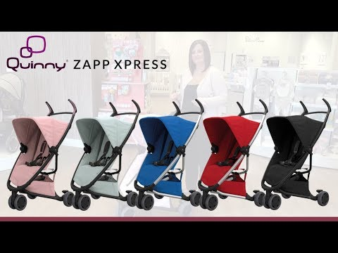Quinny Zapp Xpress Stroller Store Demo - Direct2Mum