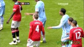Video Manchester City 2 - 3 Manchester Utd   Community Shield All goals   August 7th 2011 MP3, 3GP, MP4, WEBM, AVI, FLV Agustus 2019