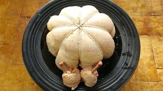 How To. Debone A Whole Chicken.A Stuffed Chicken Cushion. #SRP