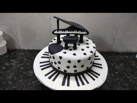 Top Amazing musical piano cake design cake making by A 1 cake