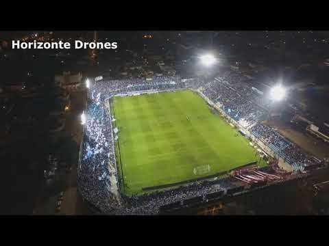 """ATLETICO VS INDEPENDIENTE - PREVIA Y RECIBIMIENTO DESDE UN DRONE"" Barra: La Inimitable • Club: Atlético Tucumán"