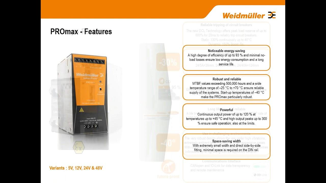 Weidmuller Power Supplies