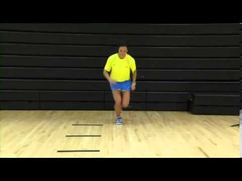 Plyometrics (Phase 2) ACL Exercise: Single Leg Jump Targets