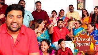 The Real Kadaikutty Singam Family - Mirchi Shiva's Family   Full Comedy