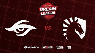 Team Secret vs  Team Liquid, DreamLeague Season 11 Major, bo3, game 1 [Adekvat & Mortlales]