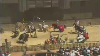 preview picture of video 'Le Puy du Fou spectacle Le secret de la lance'