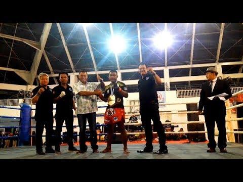 Pencak Dor prefesional seri II, GANDUN (SK Ontang-Anting) Meng TKO Rivalnya