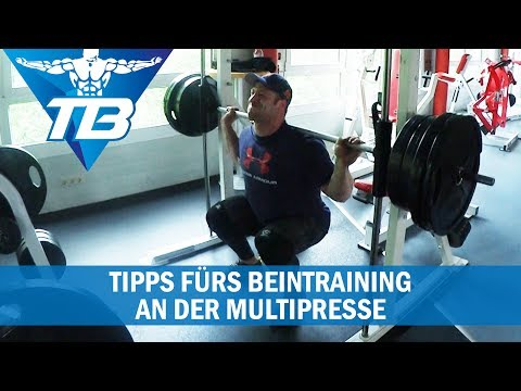 Kniebeugen an der Multipresse? | Mein Equipment fürs Beintraining |Tipps
