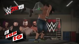 Brutal Backstage Parking Lot Brawls: WWE 2K19 Top 10
