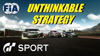 GT Sport Unthinkable Strategy - FIA Rnd 3 Manufacturer
