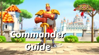El Cid Commander Guide: Is Disarm Good?  | Rise Of Kingdoms