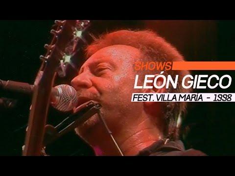 León Gieco video Villa María 1998 - Show Completo